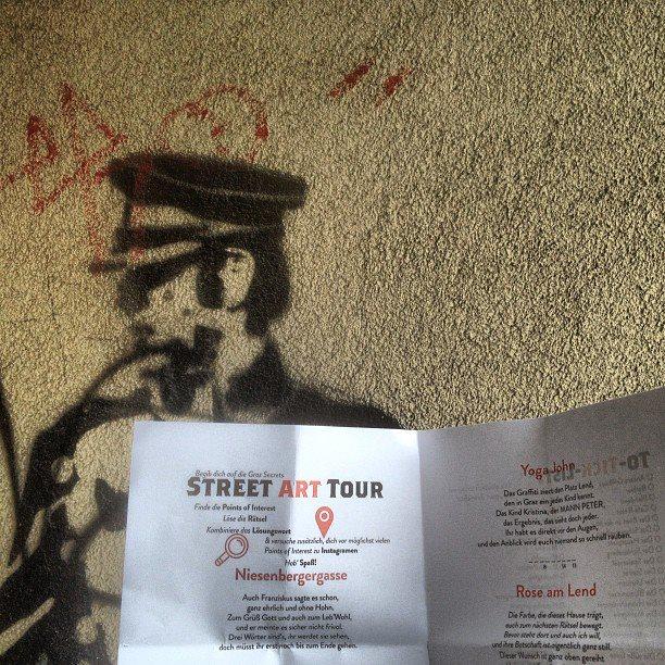 Street Art Tour in Graz, Austria