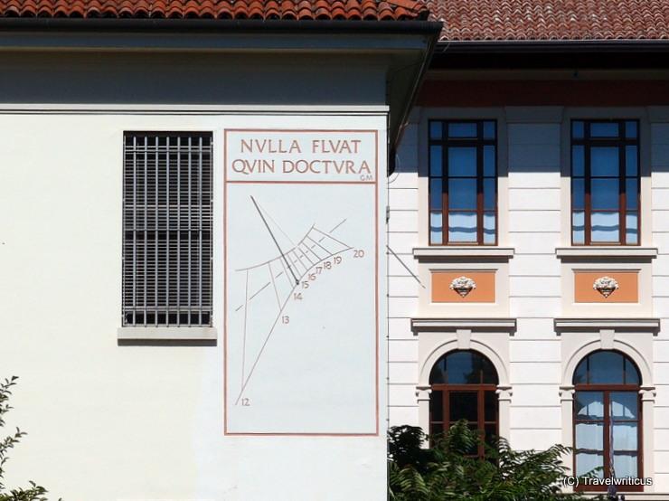 Sundial in Udine, Italy