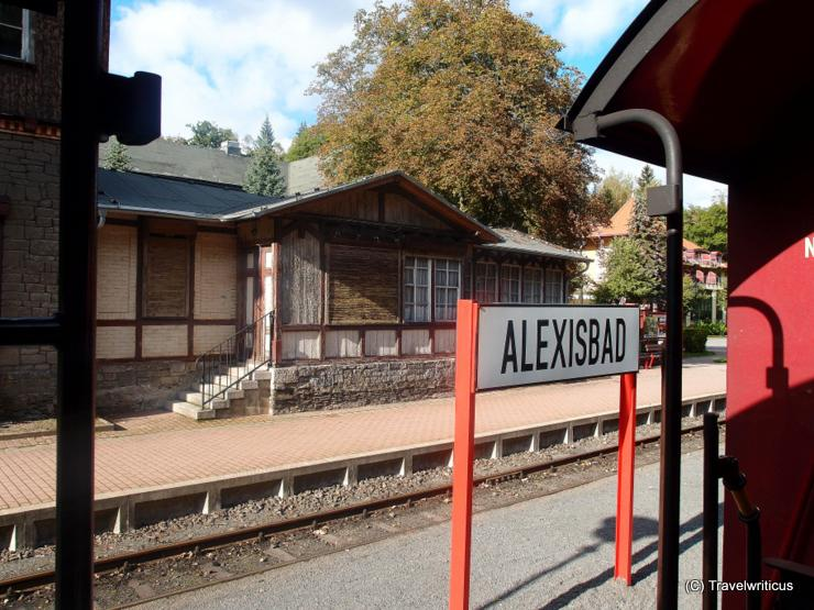 Railway station of Alexisbad, Germany