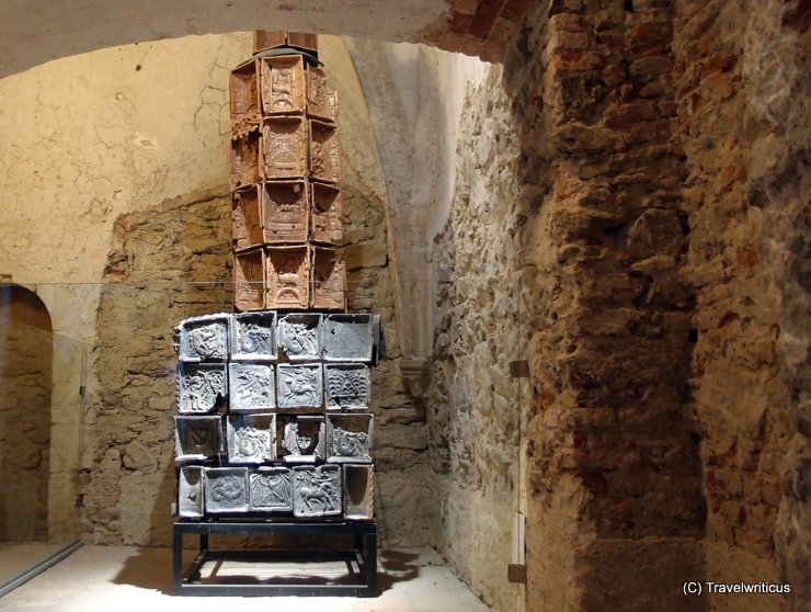 Reconstruction of a Gothic tower stove in Altenburg Abbey