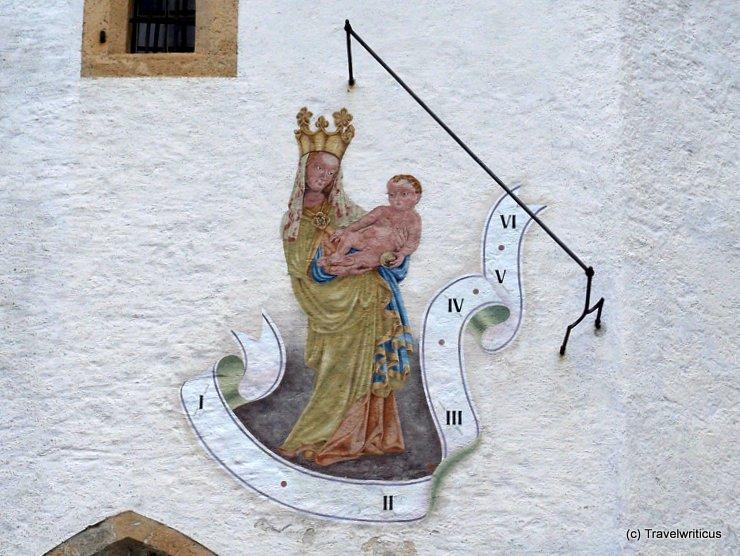 Sundial in Altenmarkt im Pongau, Austria