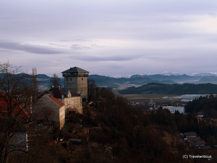 View from a tower in Althofen, Austria