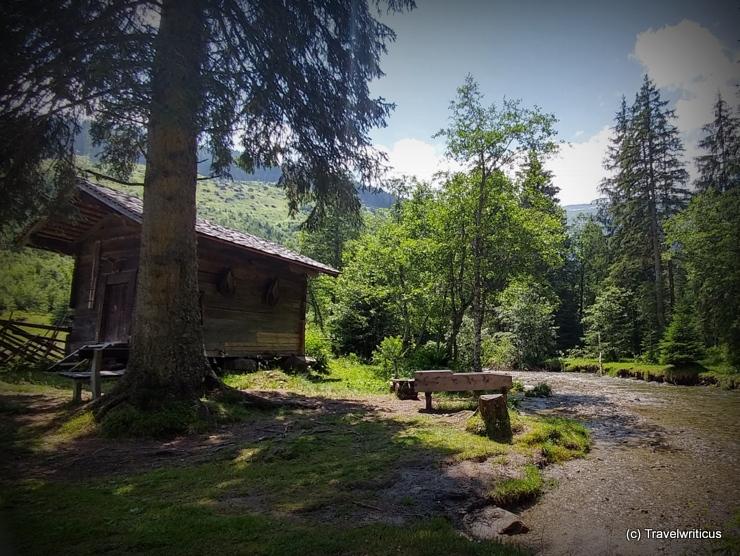 Gold panning site in Angertal near Bad Hofgastein