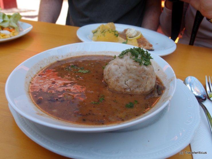Beuschel for lunch in Austria