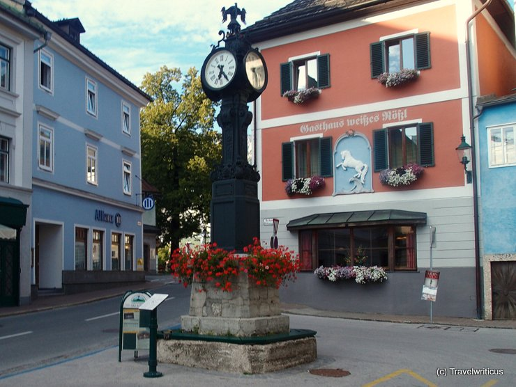 Lössl-Clock in Bad Aussee, Austria