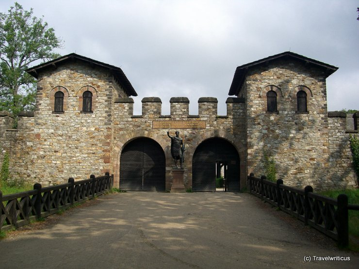 Saalburg - A reconstructed Roman fort