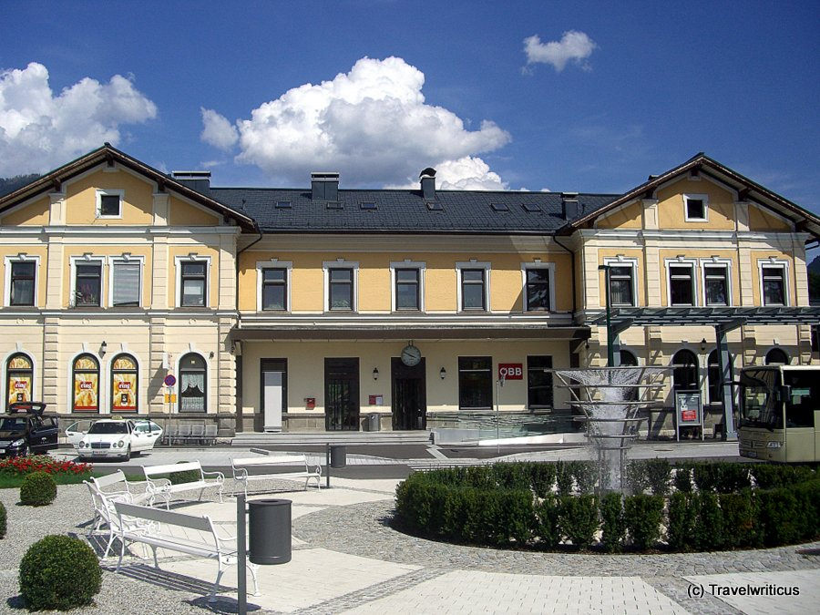 Railway station of Bad Ischl, Austria