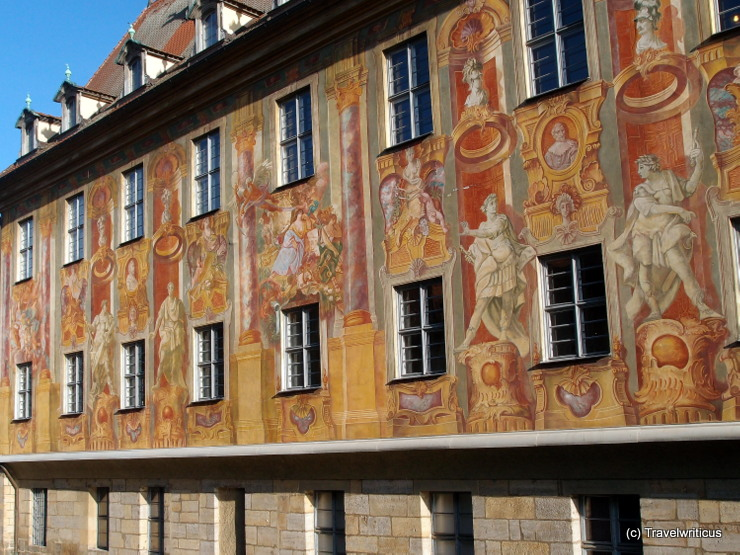 Facade by Johann Anwander in Bamberg