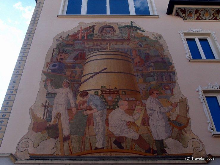 Mural by Ferdinand Kubitschek in Bischofshofen, Österreich