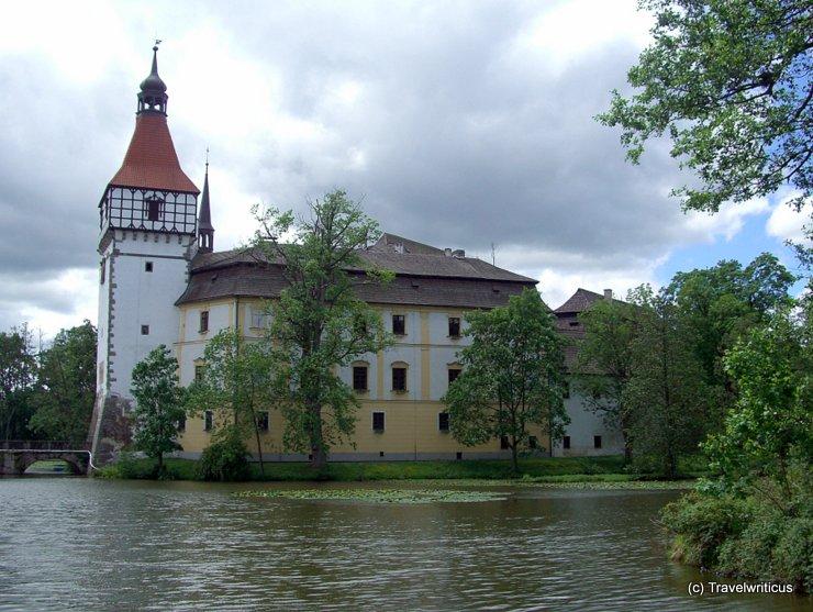 Zámek Blatná in Blatná, Czech Republic