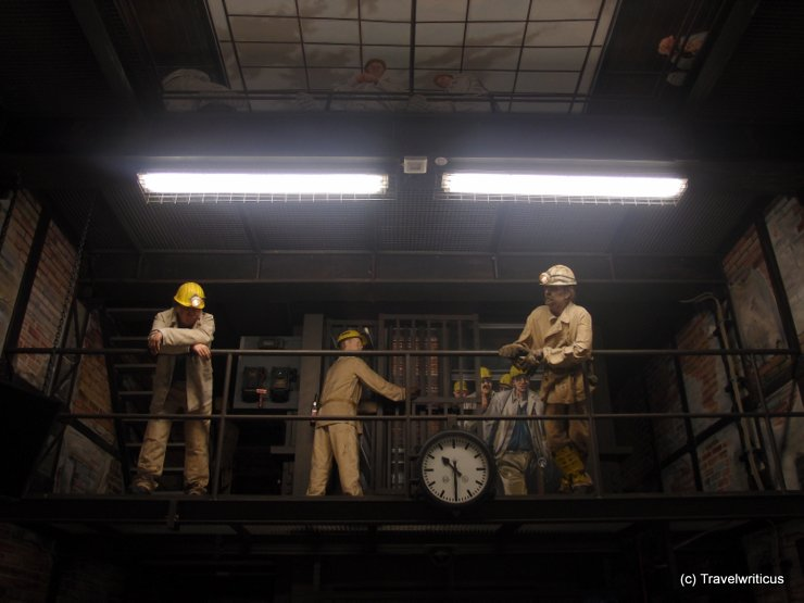 Inside the German Mining Museum (Deutsches Bergbaumuseum) in Bochum, Germany