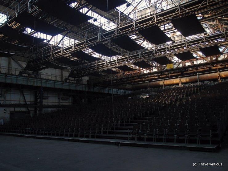 Stage at Jahrhunderthalle in Bochum, Germany