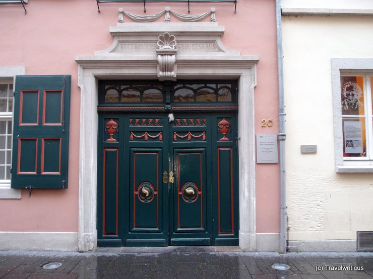 Birthplace of Ludwig van Beethoven in Bonn, Germany