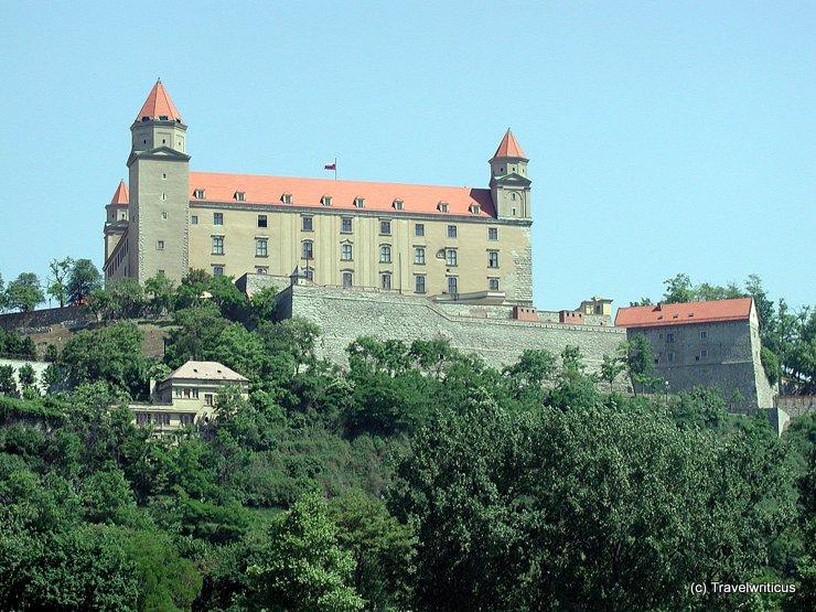 Bratislava Castle in Bratislava, Slovakia