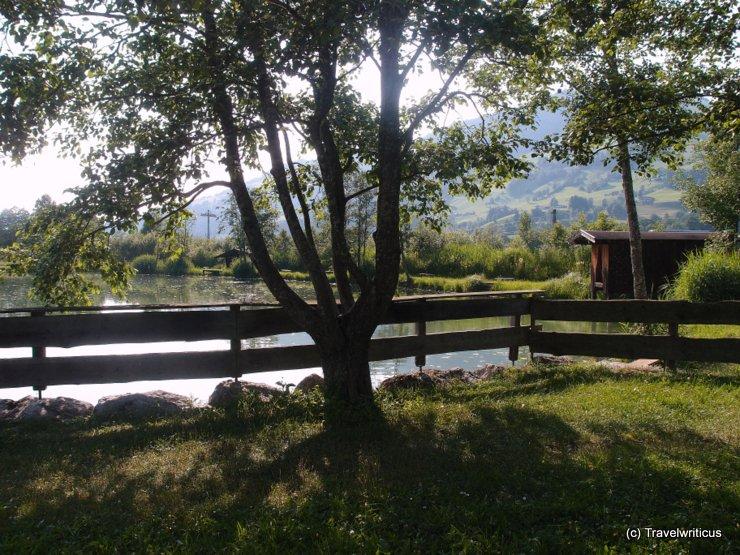 Erlensee Lake in Brixen im Thale, Austria