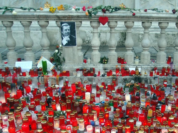 Candles for Václav Havel