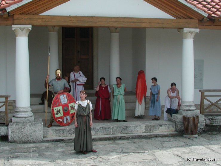 Roman fashion show in Carnuntum, Austria