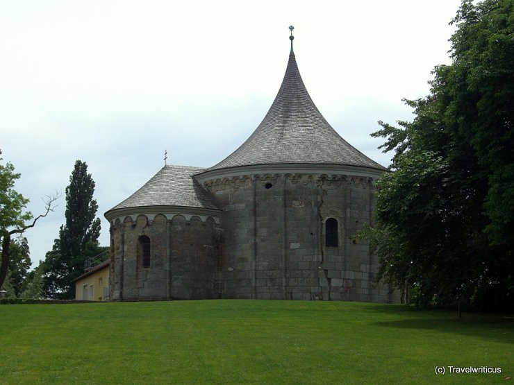 Romanesque church in Carnuntum, Austria