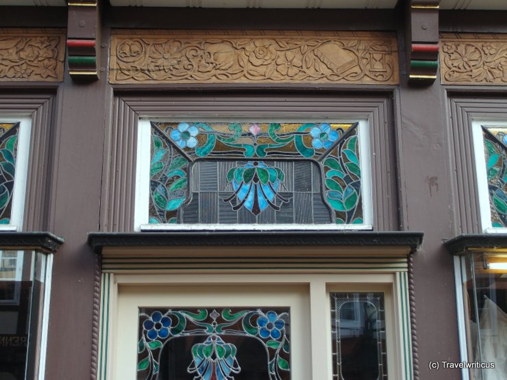 Beautiful fanlight in Celle, Germany