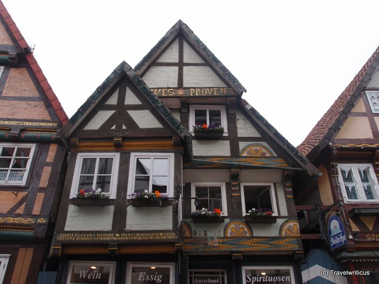 Half-timbered house in Celle, Germany