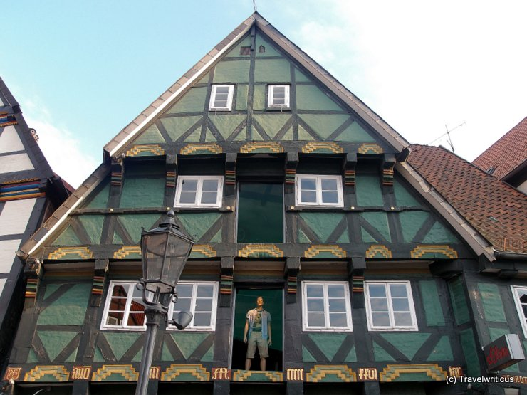 Oldest house of Celle, Germany