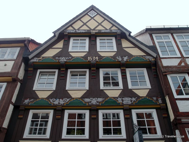 House dating back to 1534 in Celle, Germany