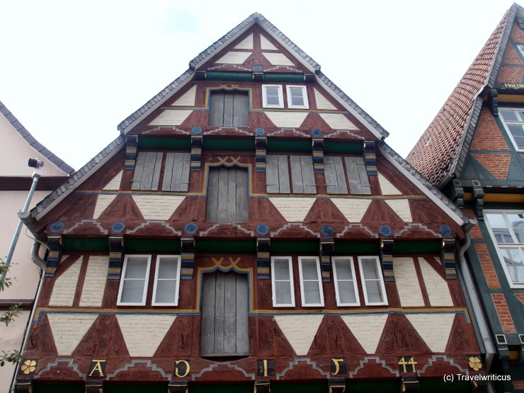Doors of a building dated with 1544 in Celle, Germany