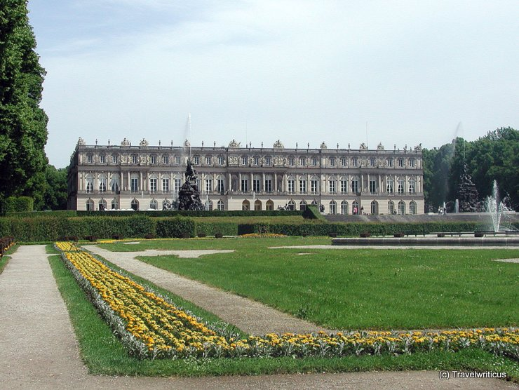 Schloss Herrenchiemsee in Chiemsee, Germany