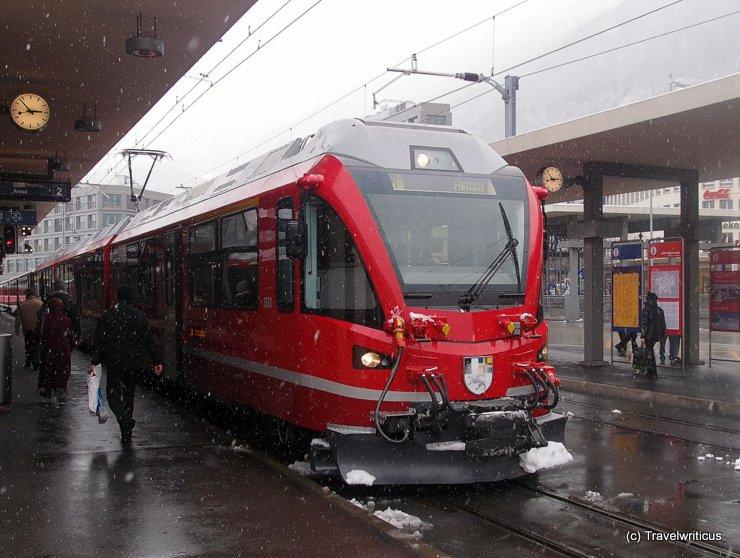 RhB ABe 8/12 'Allegra' at Chur railway station