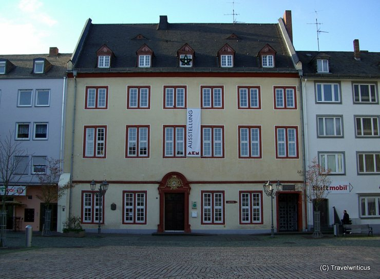Haus Metternich in Coblenz, Germany