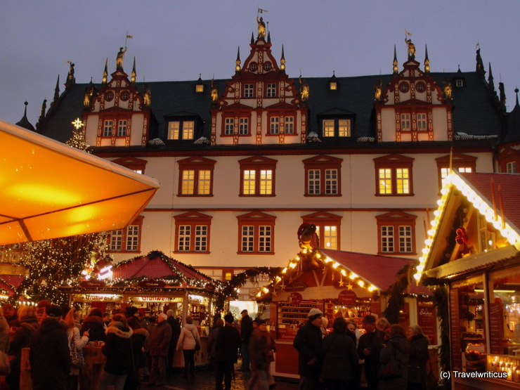 Christmas market in Coburg, Germany