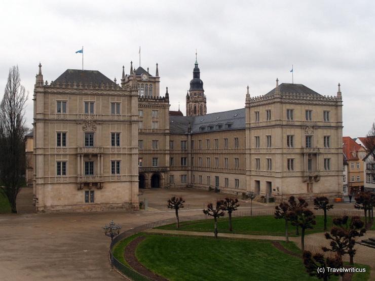 Ehrenburg Palace in Coburg, Germany