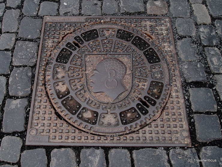 Manhole cover of Coburg, Germany
