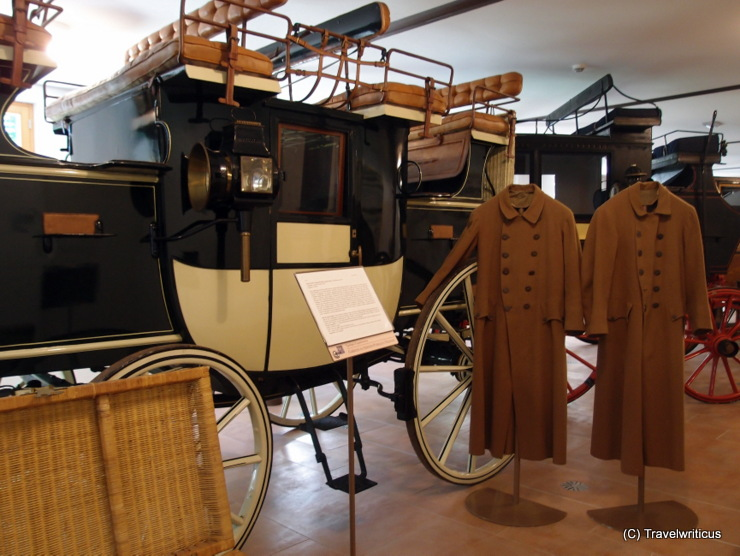 Civic museum of vintage coaches in Codroipo, Italy