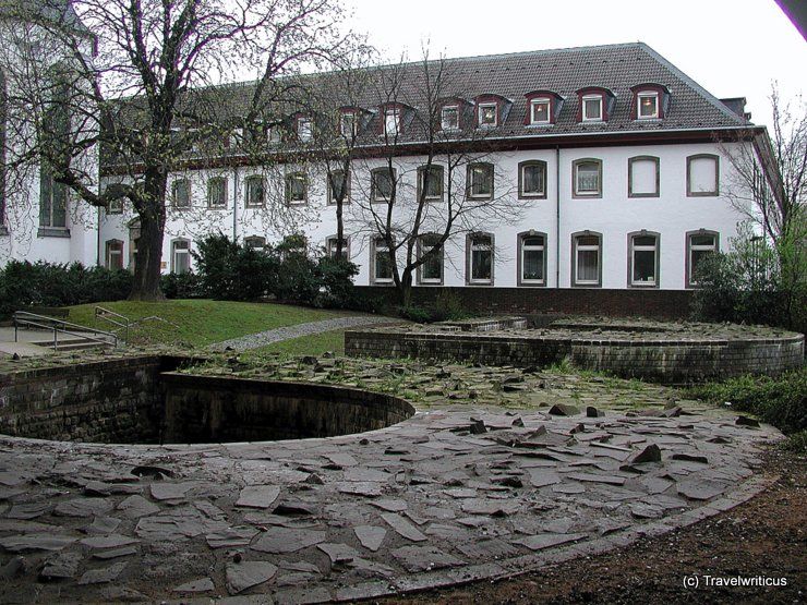 Remains of the Roman fort Divitia, Germany
