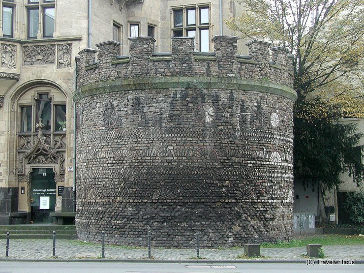 Street view of the Roman Tower