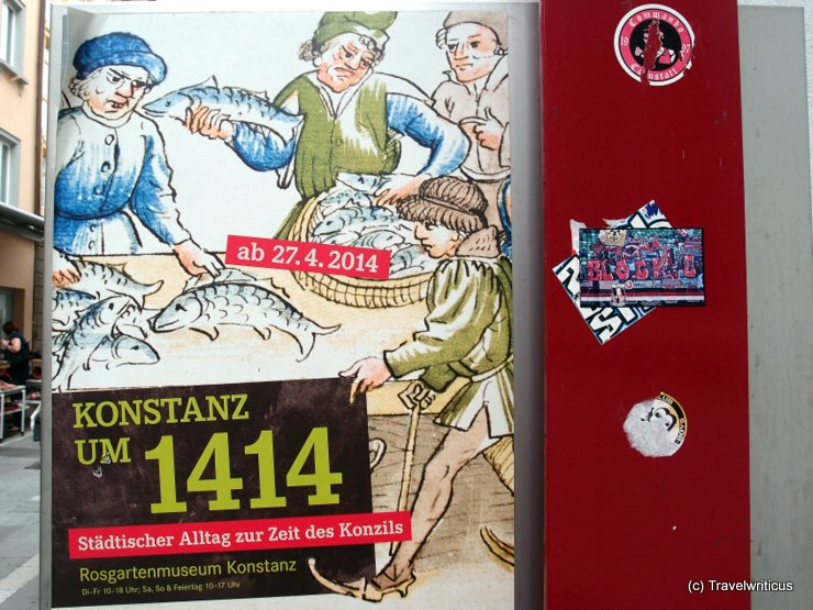 Poster for the exhibition 'Konstanz um 1414'