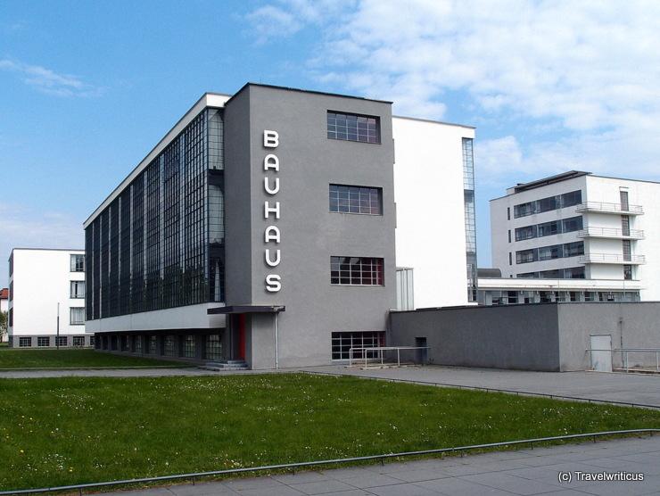 Bauhaus building in Dessau-Roßlau