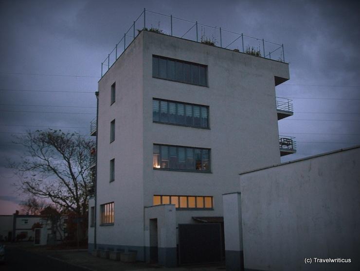 Konsum building (1928) in Dessau-Roßlau