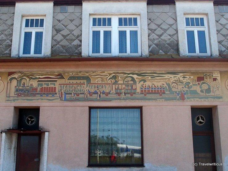 Mural in Deutsch-Wagram, Austria
