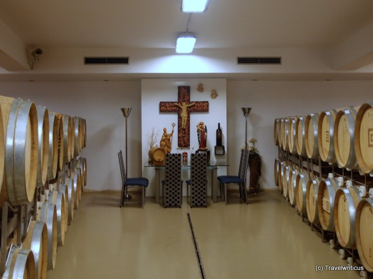 Altar at winery Gager in Deutschkreutz, Austria