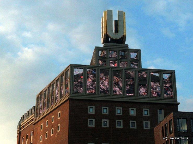 U-Turm Bilderuhr in Dortmund, Germany