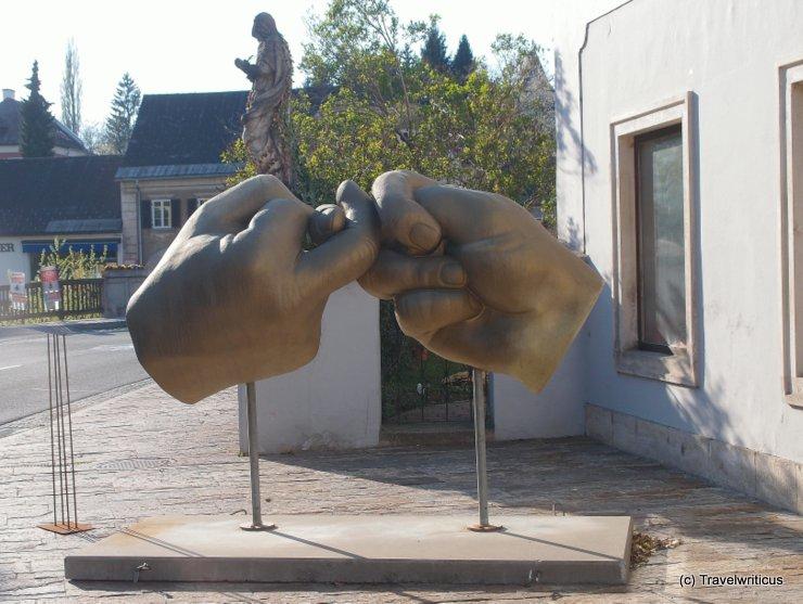 Fingerhakeln in Ehrenhausen, Austria