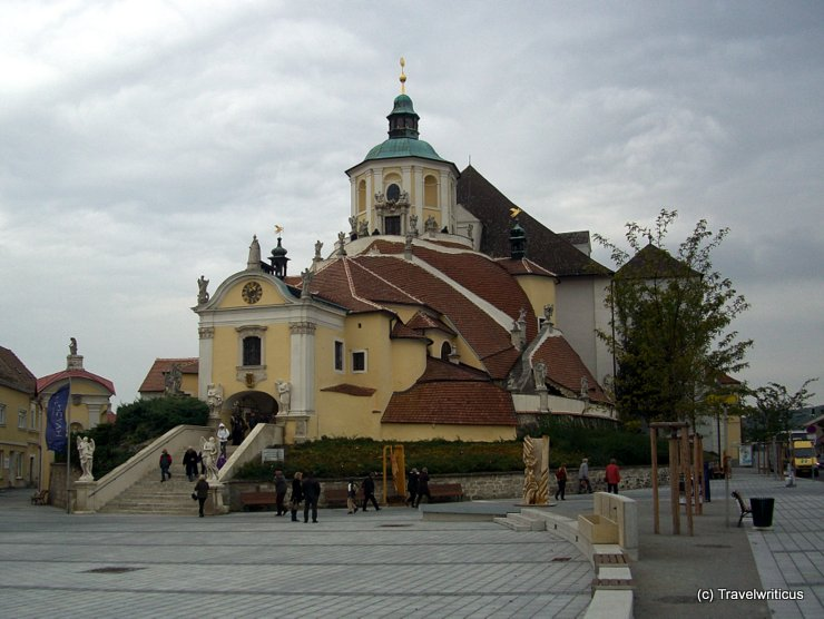 Burial place of composer Joseph Haydn in Eisenstadt, Austria