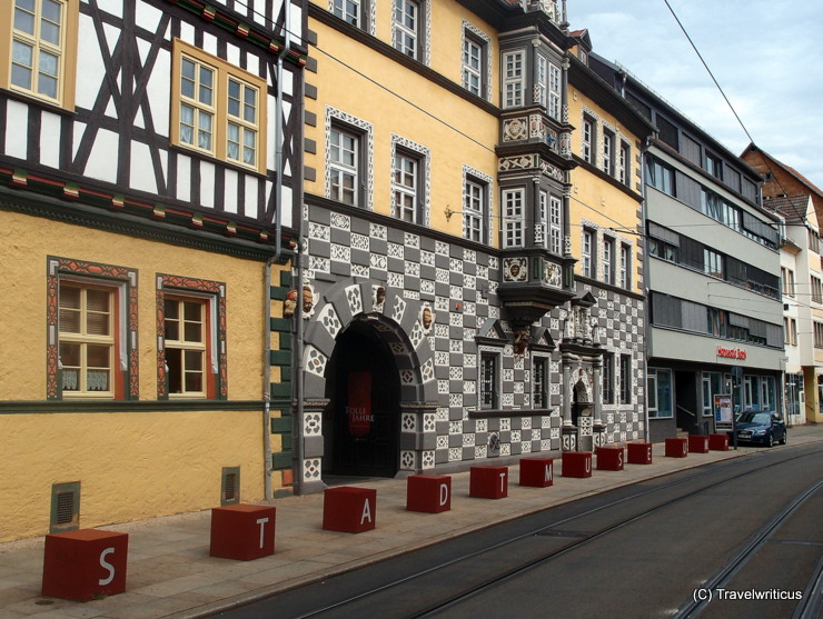 Municipal museum of Erfurt inside a 17th century Renaissance building in Thuringia, Germany