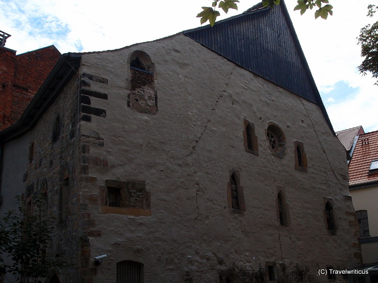 Old synagogue (11th century) of Erfurt, Germany