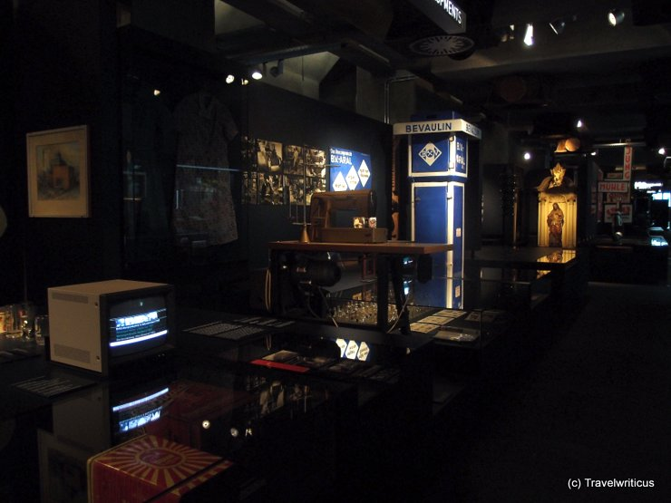 Inside the Ruhr Museum in Essen, Germany