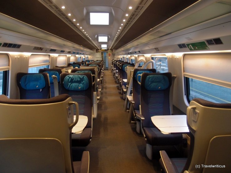 1st class of the Frecciargento