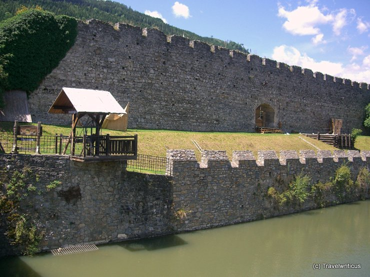 City walls of Friesach, Austria