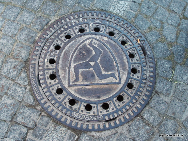 Manhole cover in Füssen, Germany